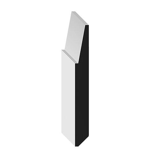"""5"""" Bevel Step Baseboard (12 feet)"""