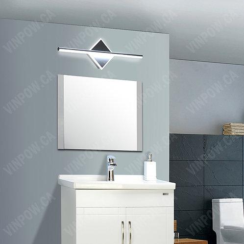 12W LED Vanity Light -Diamond Shape with Bar