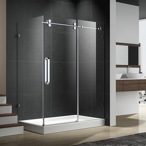 "48"" Frameless Shower Glass and Door"