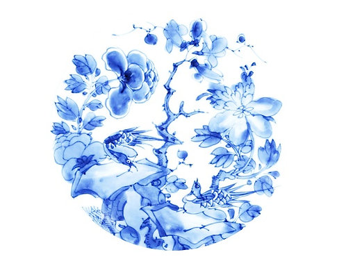 Pattern 8 - Delftware