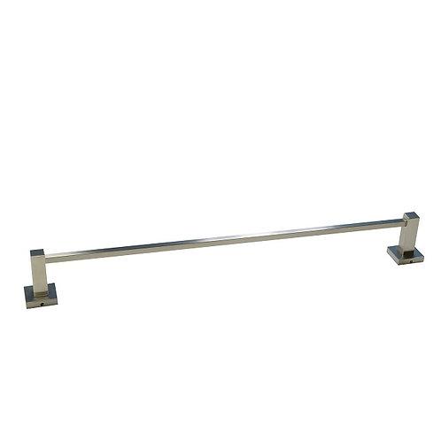 Single-Bar Towel Rack (Brush Nickel)