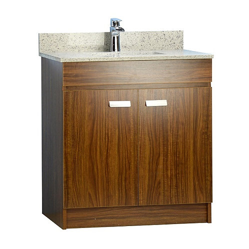 """31"""" Multi-Layer Plywood Vanity with Stone Top"""