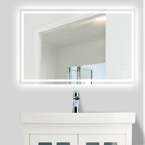 "LED Illuminated Bathroom Wall Mirror (24"" to 60"")"