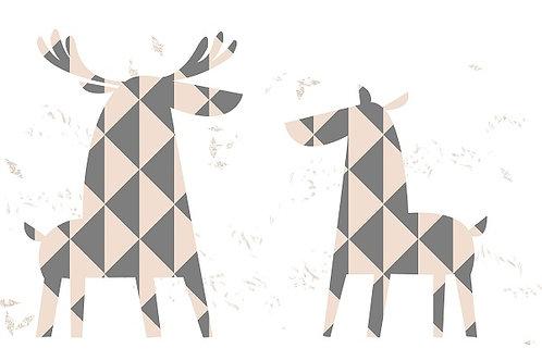 illustration 11 - Deers