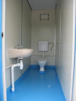 Toilet container