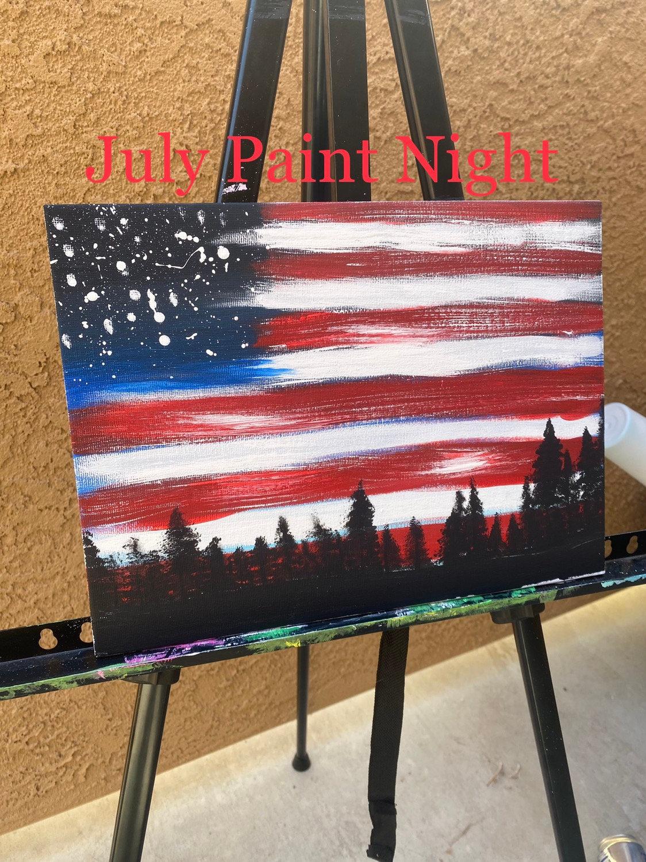 July Paint Night