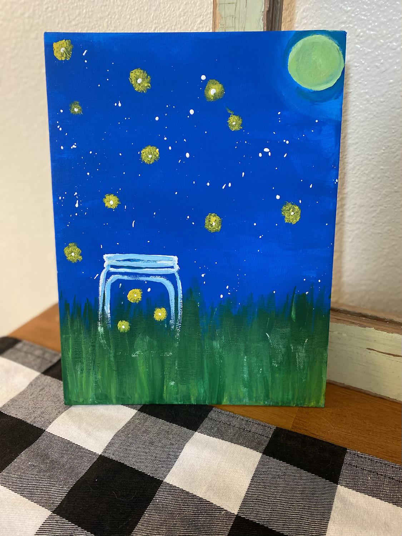 June Kid Paint Night