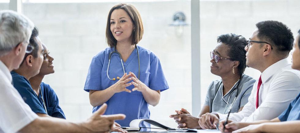 Photo by Goodwin University | https://www.goodwin.edu/glossary/nurse-educator