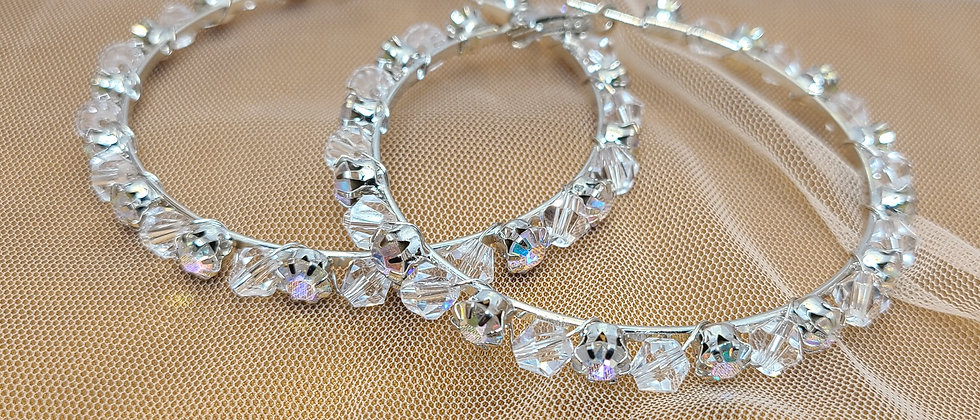 Rise & Sparkle Hoops