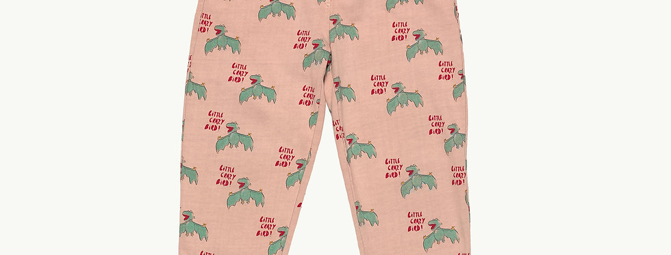 Crazy Bird Print PANTS