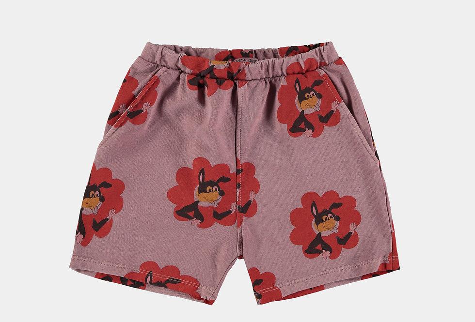 Flower Power print shorts