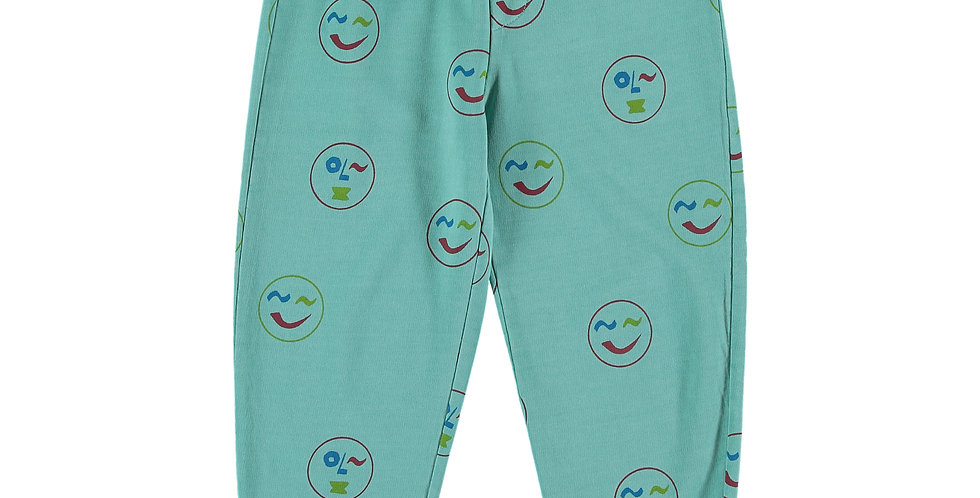 Smiley Print Pants