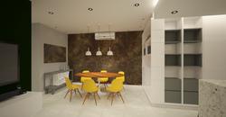 sala de jantar cleen design contempo