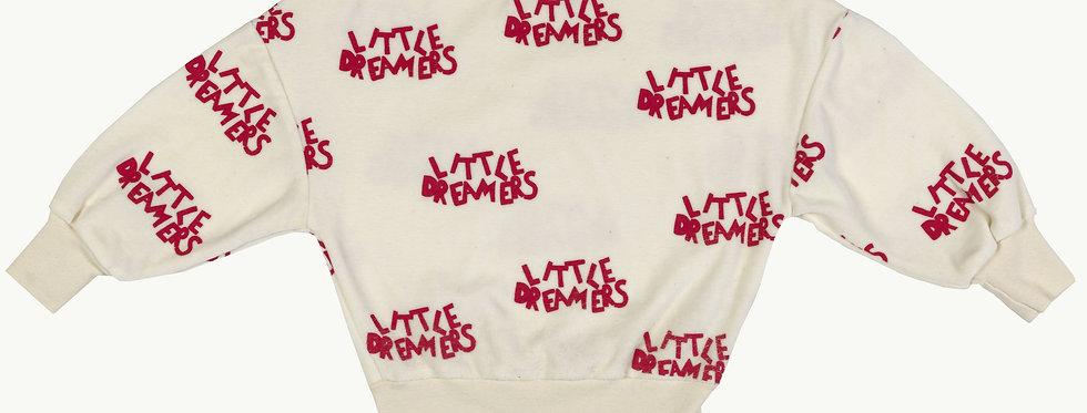 Little dreamers towel sweatshirt