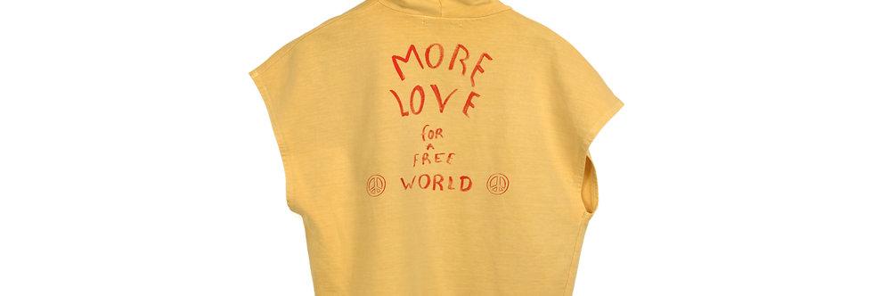 More love zip vest
