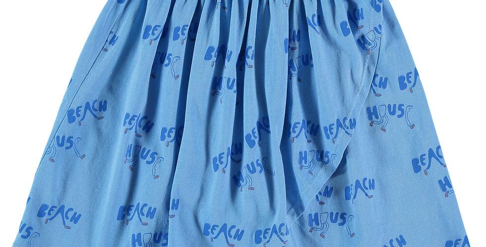 Beach House print Skirt