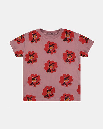 Flower Power print t-shirt