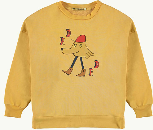 FD yellow Sweatshirt