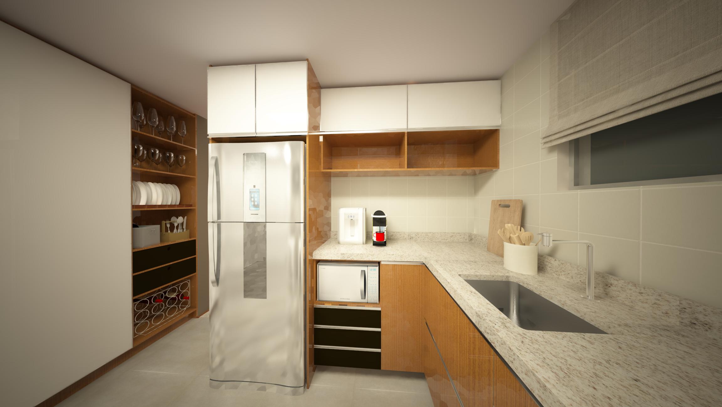 cozinha planejada em marcenaria