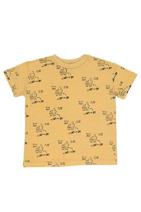 First swim print t-shirt