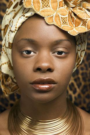 Envoltura de la cabeza tradicional afric