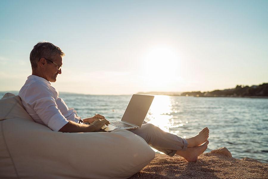 Upbeat around retirement