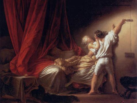 La cameretta libertina: il chiavistello di Fragonard