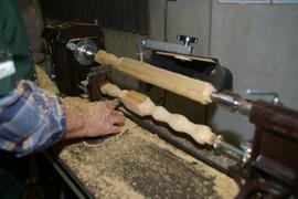 Wood turning...