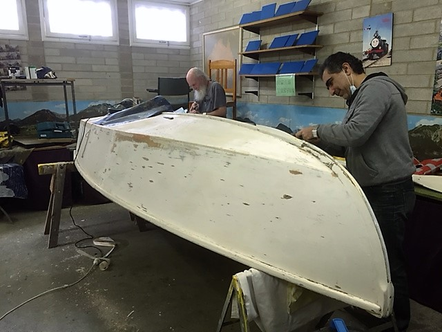Dinghy restoration