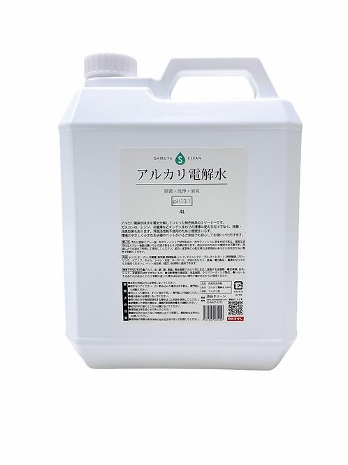 アルカリ電解水 【pH13.1】4L