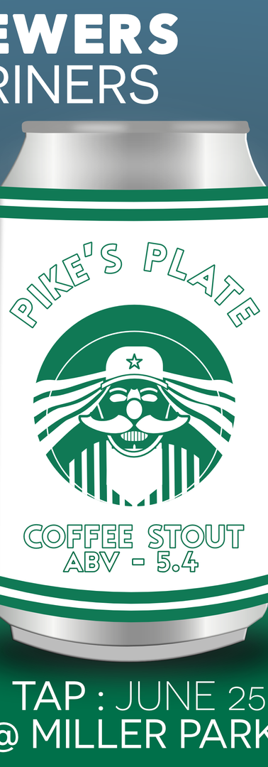 Pike's Plate : Coffee Stout