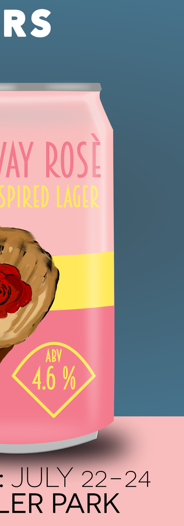 No Way Rosè : Rosè Inspired Lager