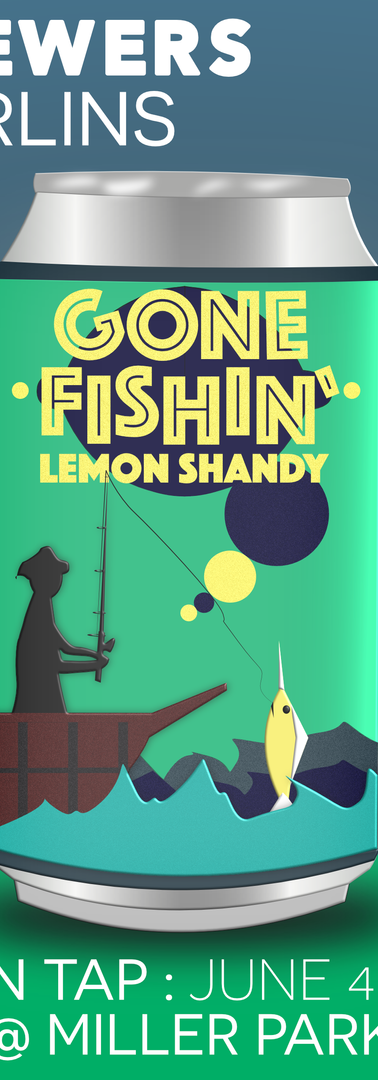 Gone Fishin' : Lemon Shandy