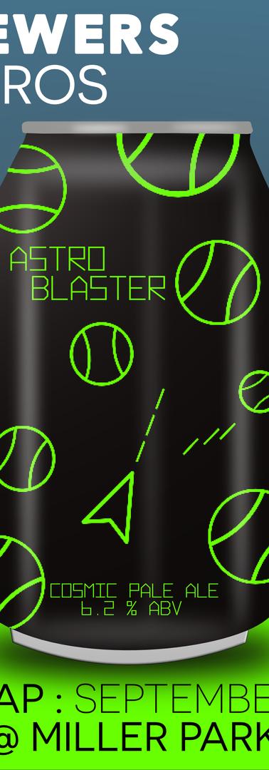 """Astro Blaster : Cosmic Pale Ale"""