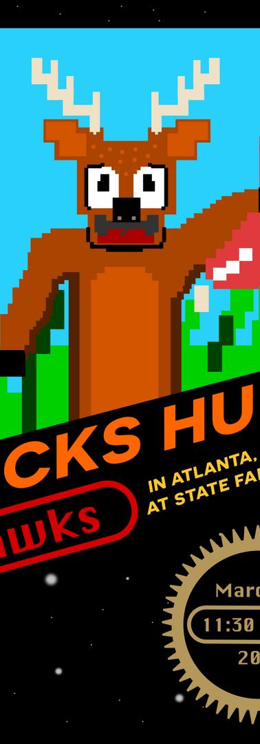 Bucks Hunt Hawks