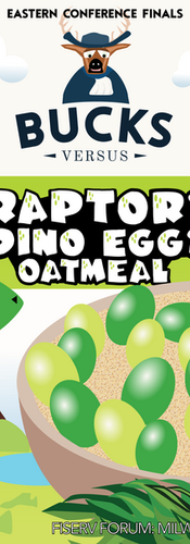 Raptor Eggs Instant Oatmeal