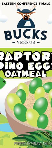 Raptor Eggs Instant Oatmeal