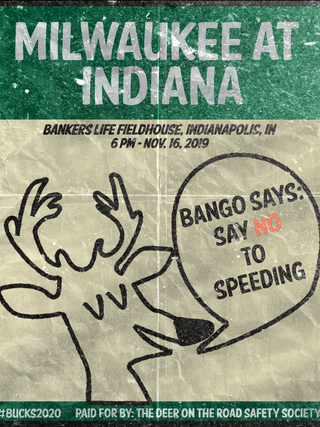 Bango Says Say No To Speeding
