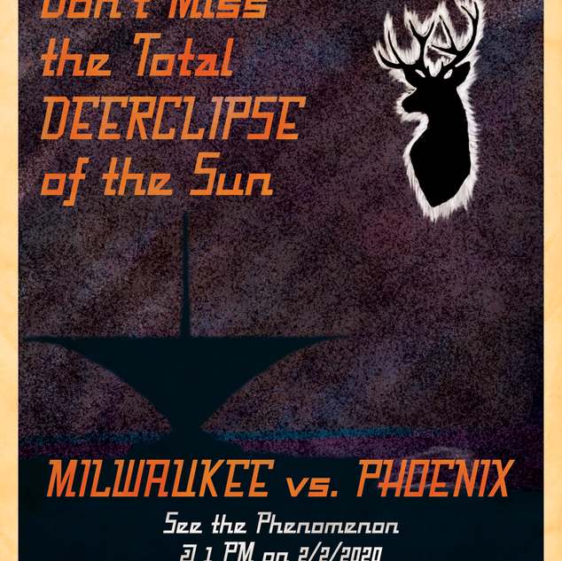 Don't Miss the Total Deerclipse of the Sun