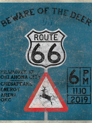 Beware of the Deer on Route 66