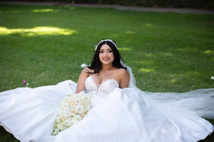 Princess wedding dress exclusive to Rachel and Rose