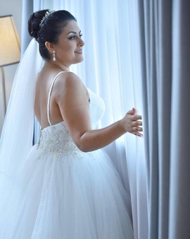 Custom made wedding dress by Rachel and Rose