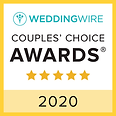 Wedding Wire Couple's Choice Awards badge 2020