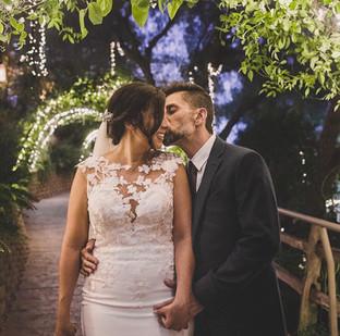 Pronovias wedding dress with illusion lace