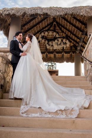 Custom wedding dress by Rachel and Rose
