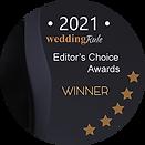 Badge for WeddingRule Best Bridal Stores 2021 Winner