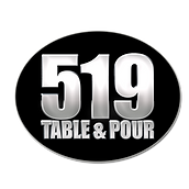 519 table and pour logo