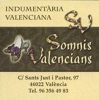 Indumentaria Valenciana Somnis Valencians
