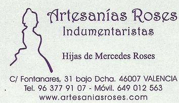 Artesanias Roses Indumentaristas