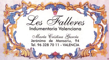 Les Falleres Indumentaria Valencia